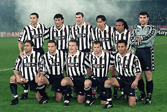 Состав ювентус 1997/ 1998