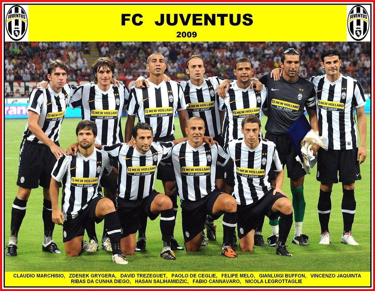 2004 ювентус состав